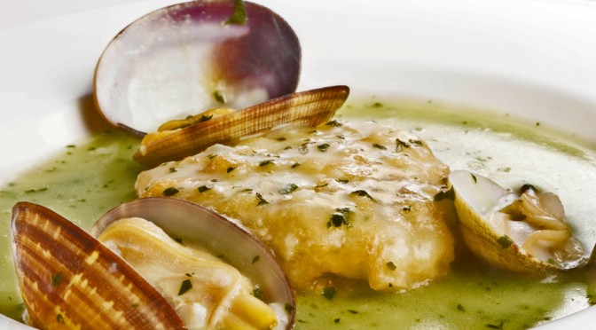 Patatas a la importancia en la carta de Viavélez Restaurante