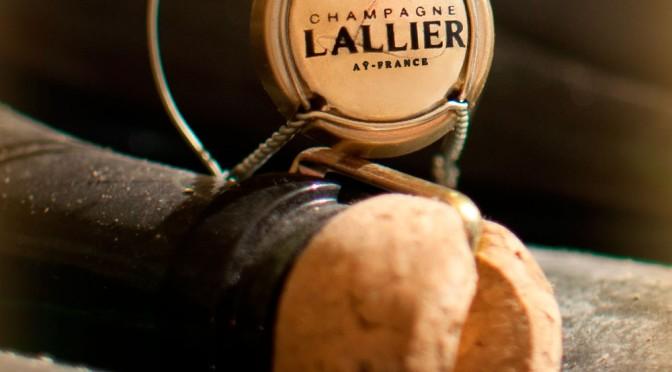 Cene con su bodeguero: Champagne Lallier