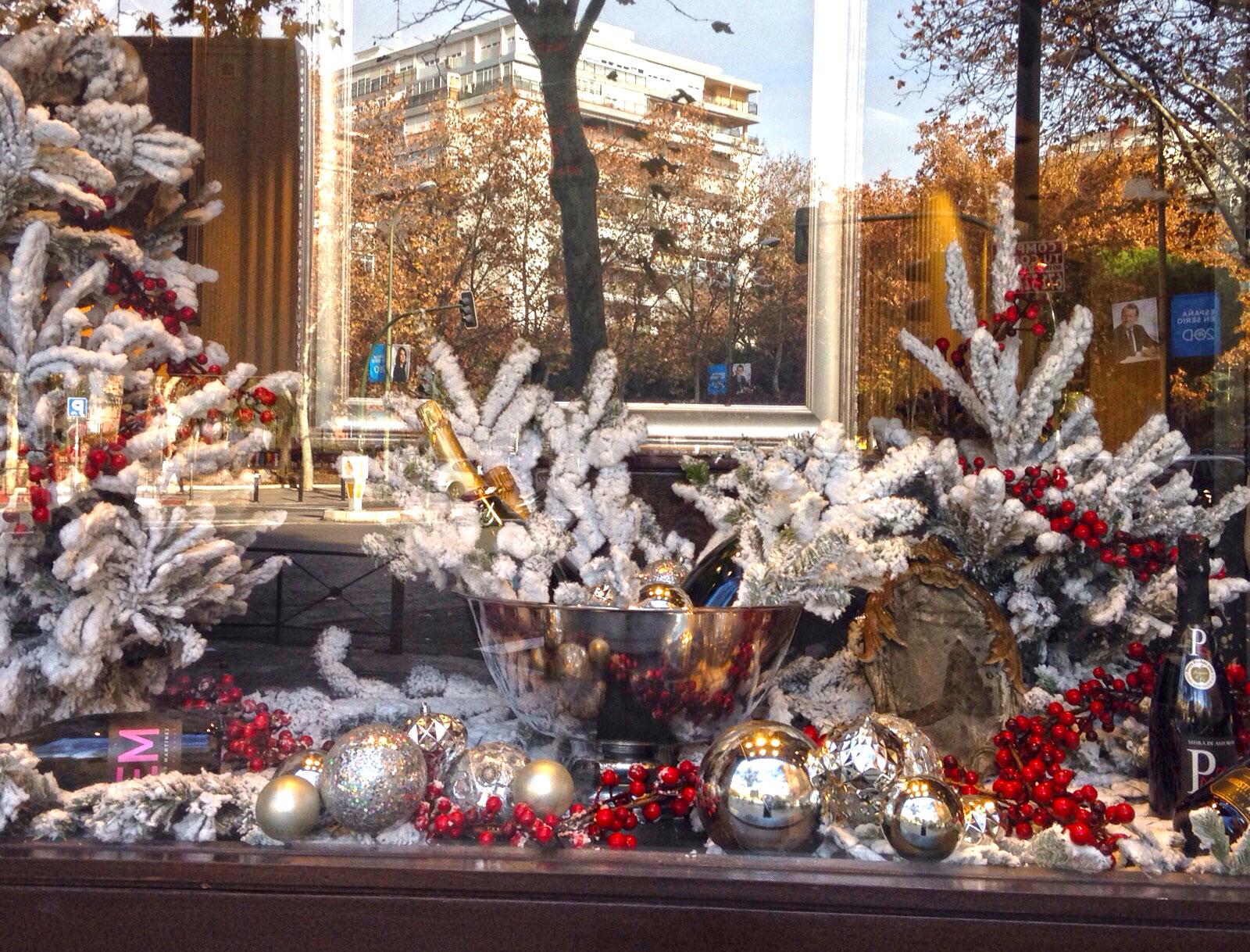 El escaparate de Navidad de Viavélez