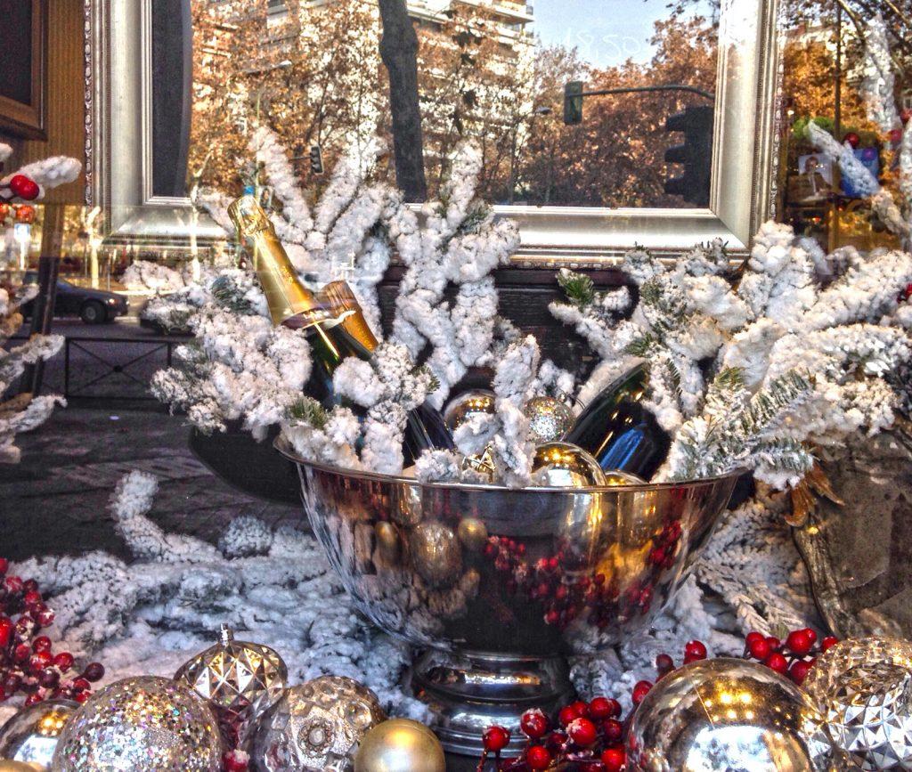 Escaparate de Viavélez Navidad 2015