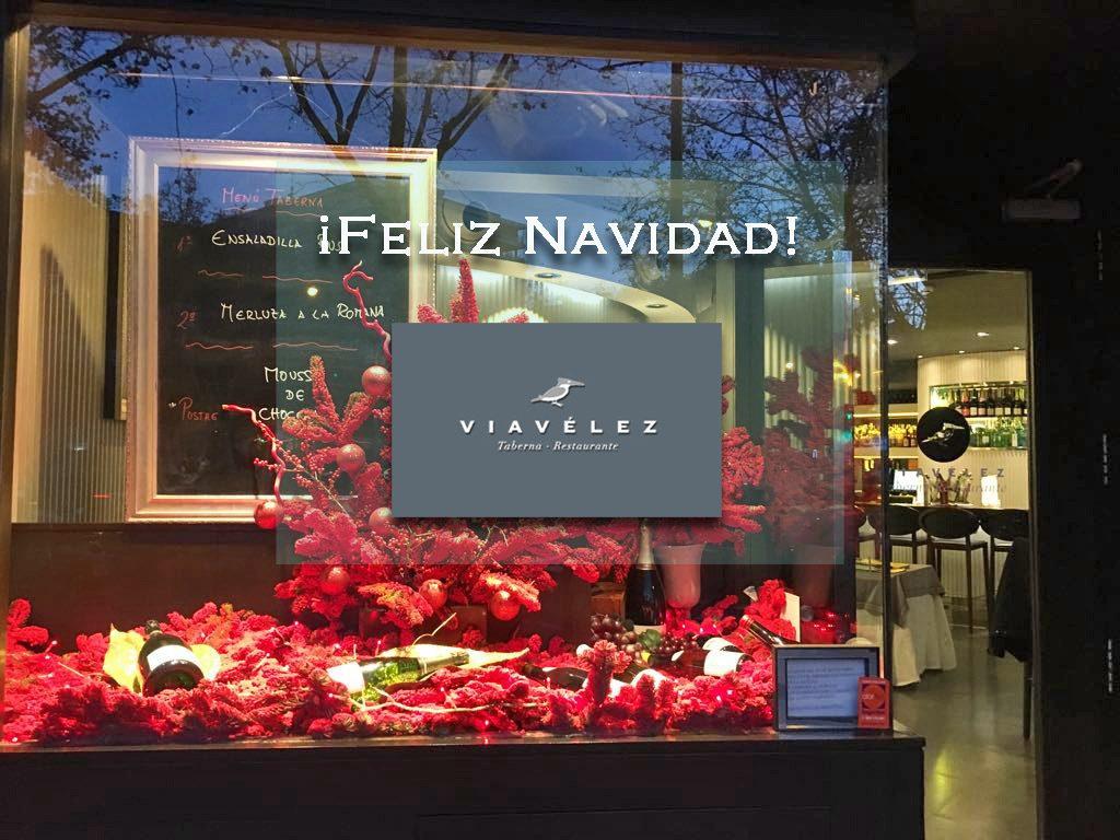 Felicitación de Navidad de Viavélez Madrid